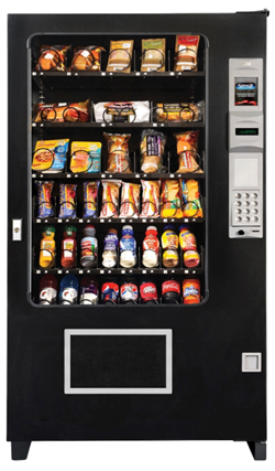 AMS Glass-Front Deli Cold Food Vending Machine - Cheap Vending Machines.com