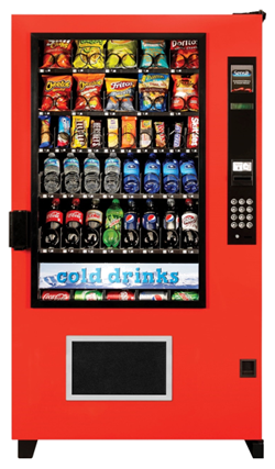 AMS Outsider Comb Vending Machine - Cheap Vending Machines.com