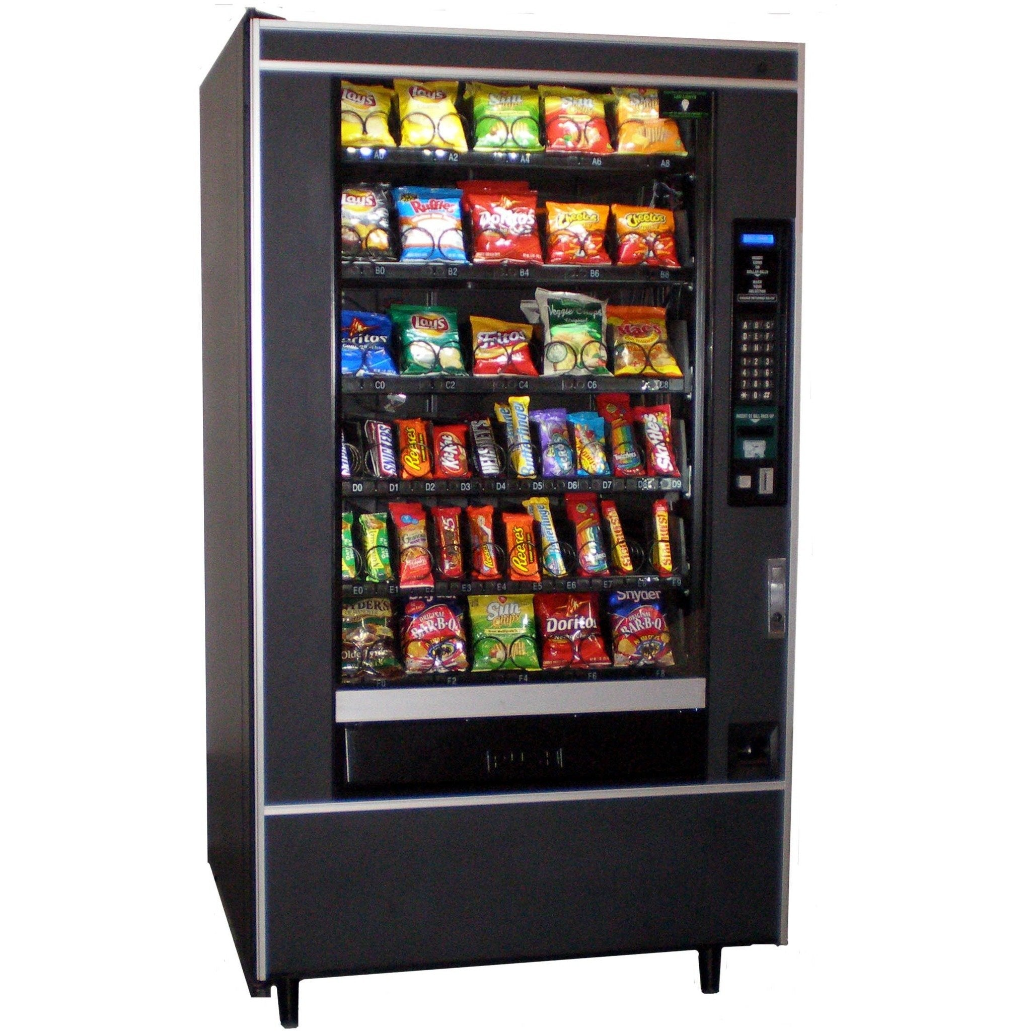 Crane National 147 Snack Machine - Cheap Vending Machines.com