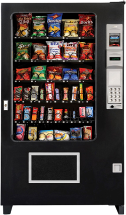 AMS 5 Wide Snack Machine - Cheap Vending Machines.com
