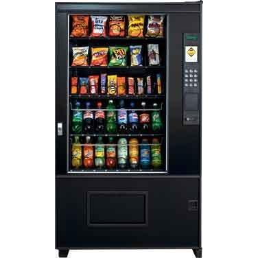 "AMS 39"" Drink and Snack Combo Vending Machine - Cheap Vending Machines.com"