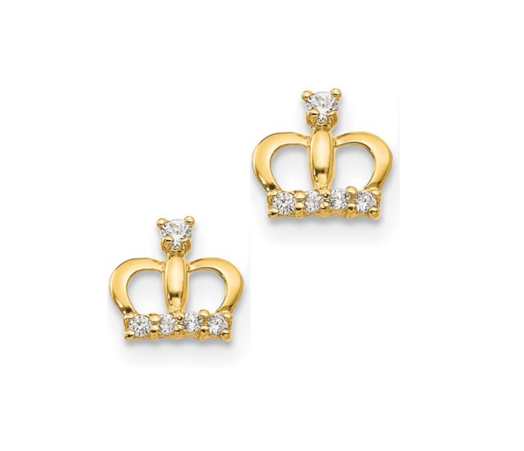 14K Princess Crown