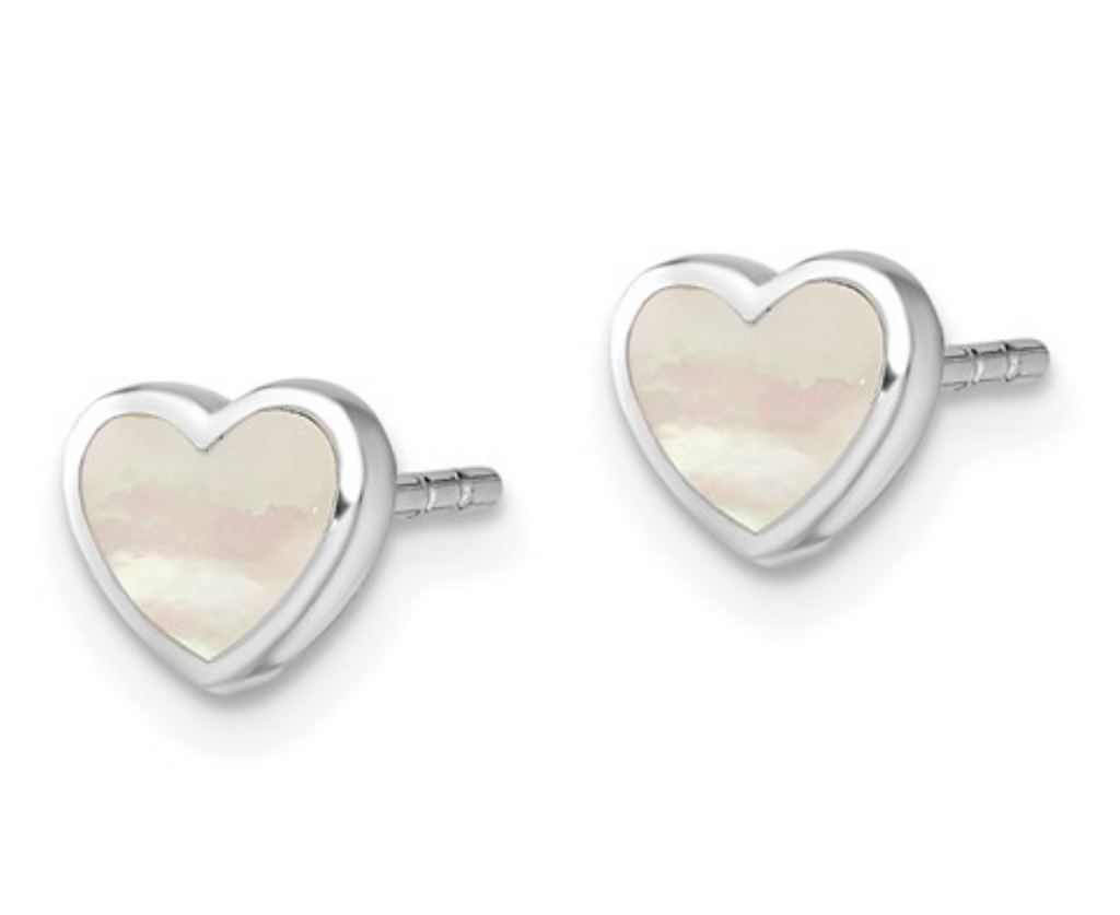 Mother of Pearl Inlay Hearts