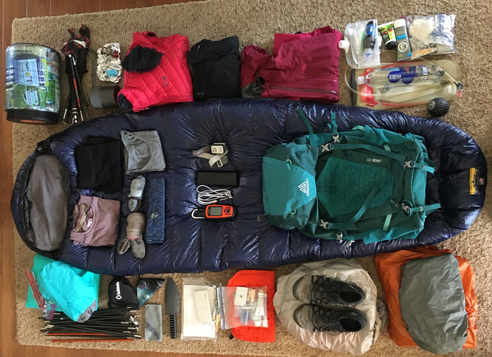 John Muir Trail - Gear List