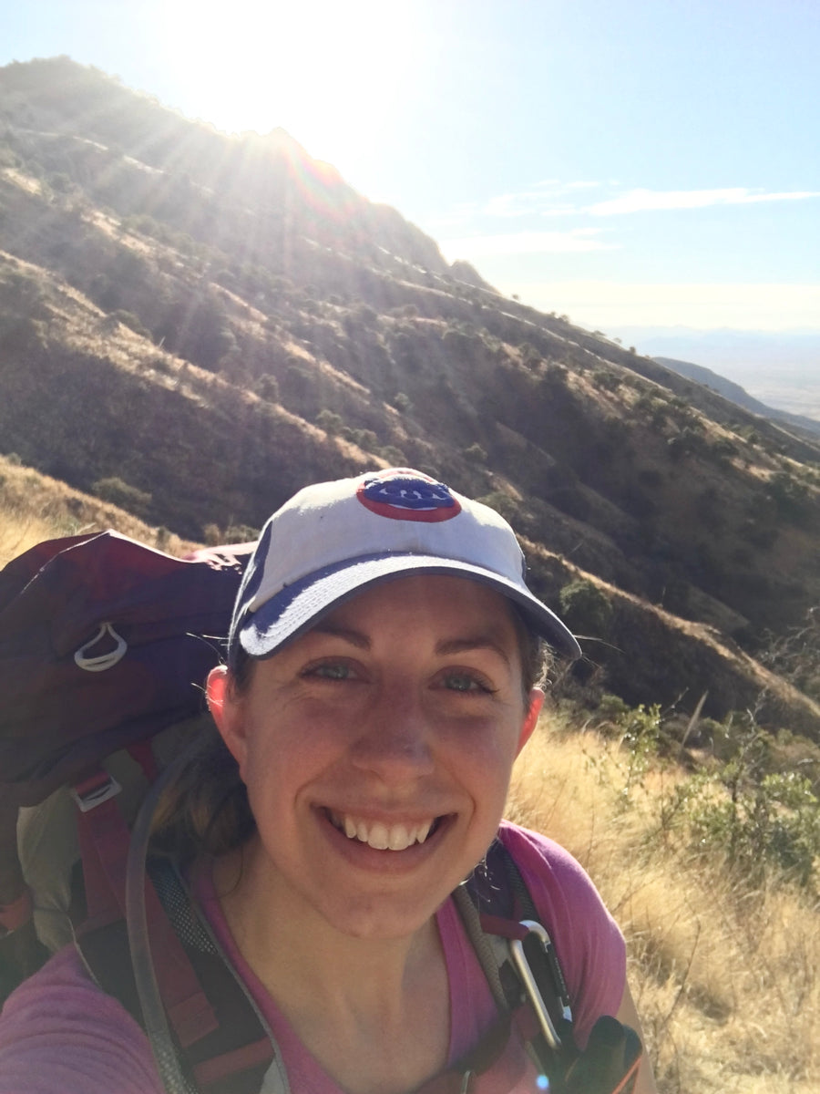 hiker hiking backpacker backpacking arizona trail women who hike hiking my feelings smiling female hiker