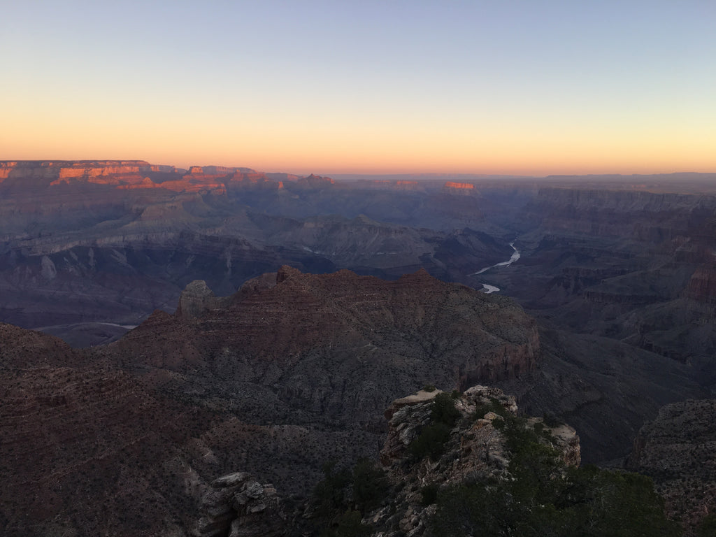 Navajo Point Sunrise Grand Canyon