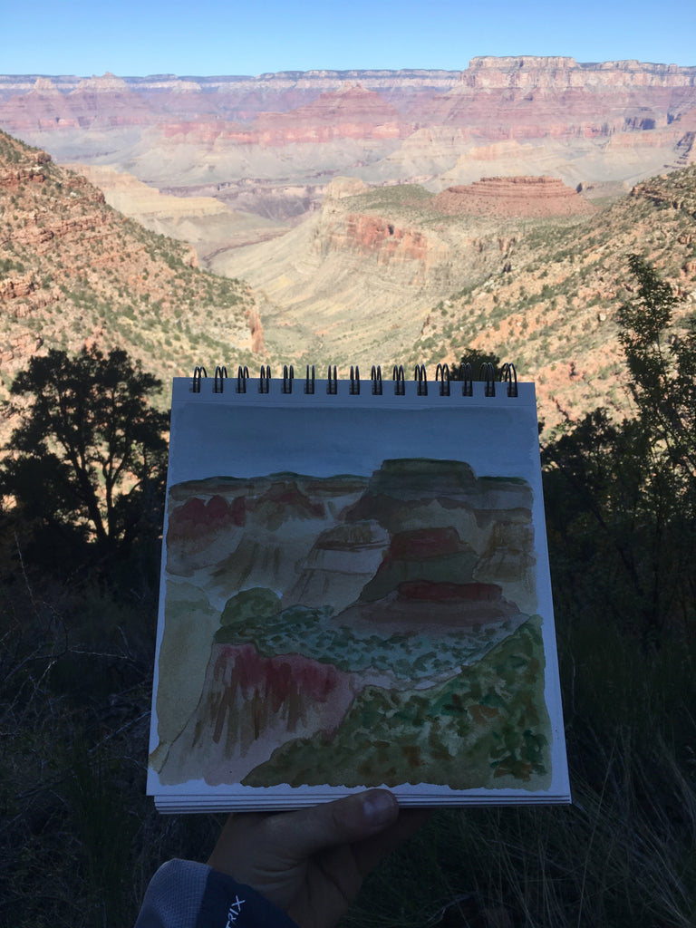 Watercolor Grand Canyon