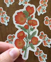 Load image into Gallery viewer, Desert Globe Mallow Vinyl Sticker