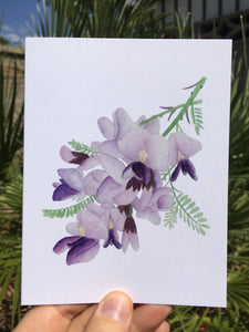 Ironwood Tree Bloom Greeting Card