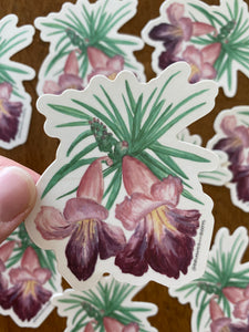 Wildflower Vinyl Sticker Pack of 6