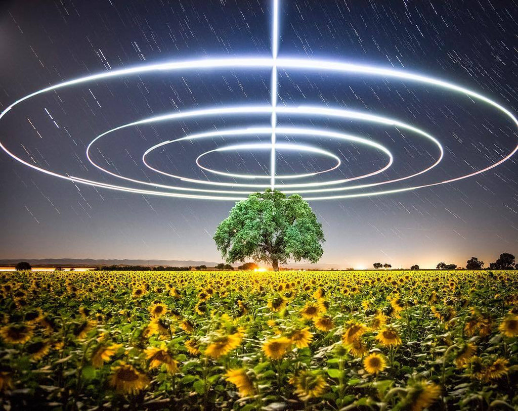 Drone Photography and Light Painting