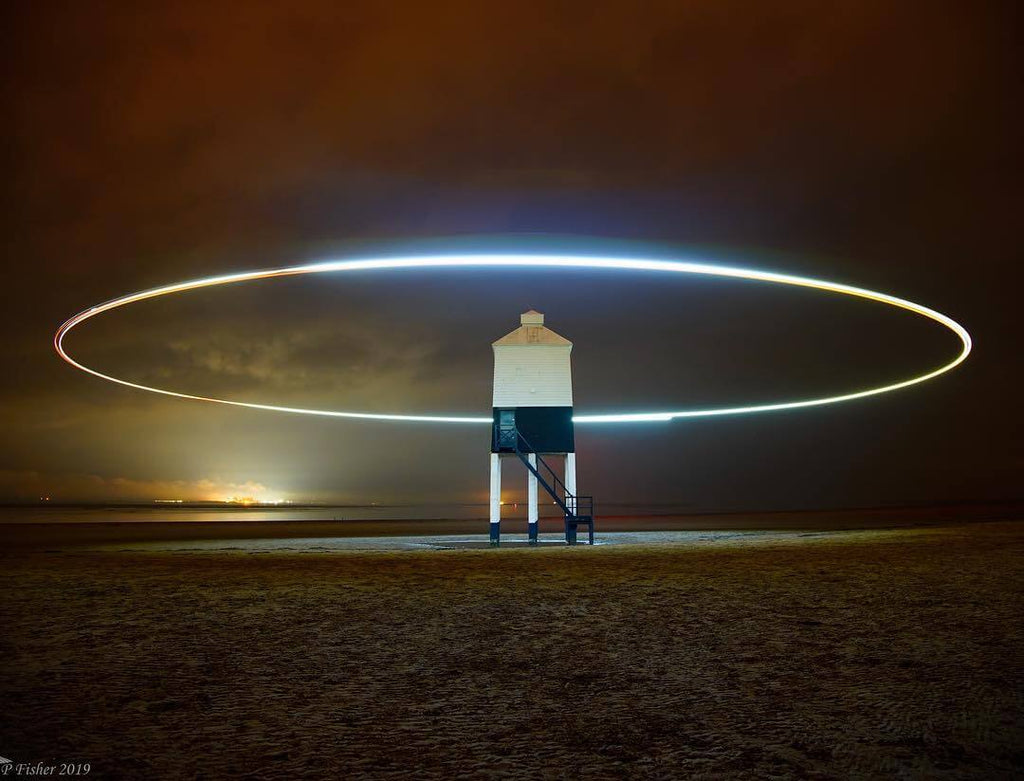 Drone Light Painting with Phill Fisher