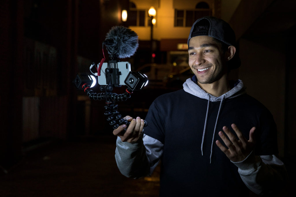 Wil Dasovich YouTube Content Creator with Lume Cube