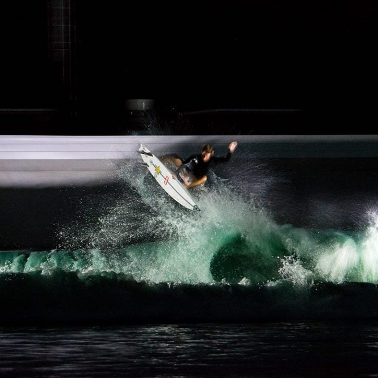 Rob Kelly Surfing at Waco Wave Pool