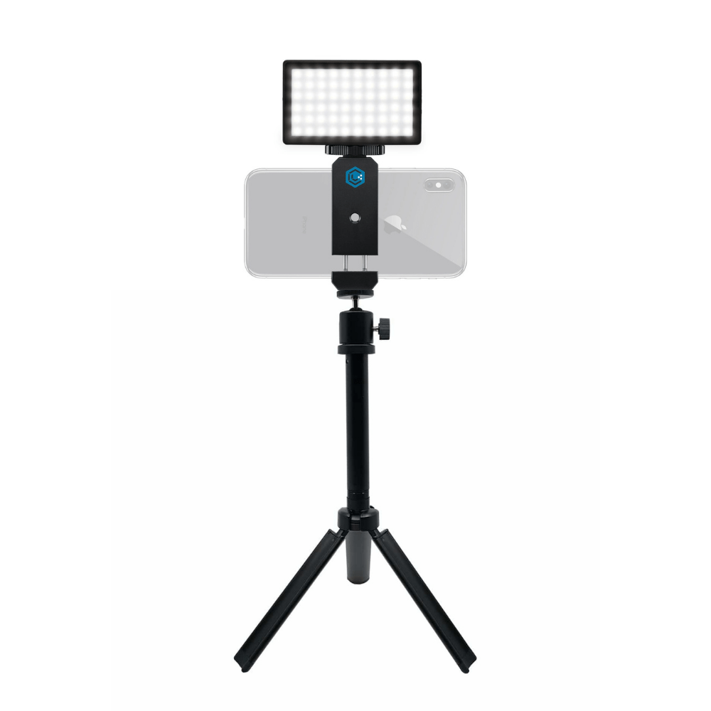 Smartphone Vlogging Kit w/ Stand - Lume Cube, Inc Portable Lighting.