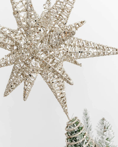 Glimmer Star Tree Topper
