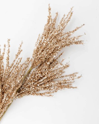 Gold Tinsel Stem