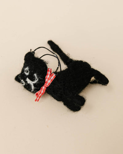 Wool Felt Cat Ornaments