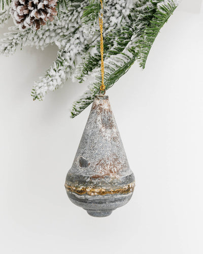 Rustic Metal Ornament