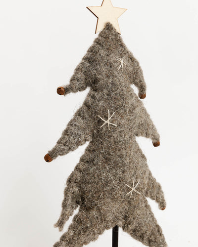 Rustic Wool Felt Tree