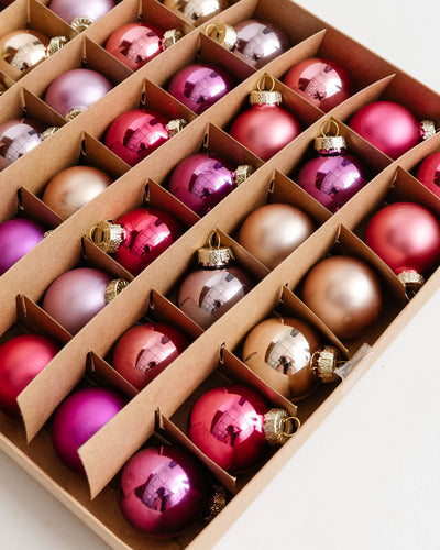 Plum Ornaments (Boxed Set of 54)
