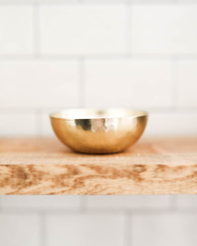 Remi Brass Pinch Bowl