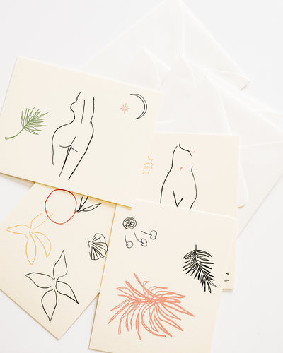 Fauna Notecard Set