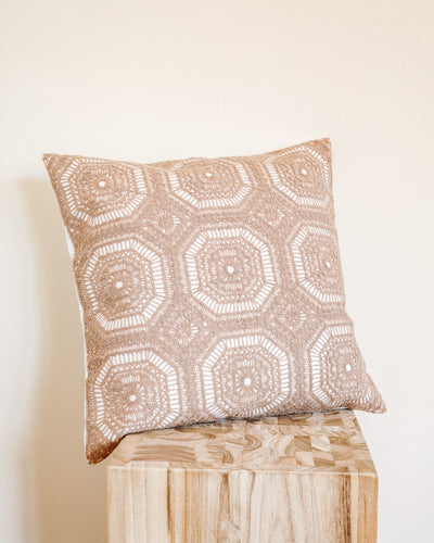 Naima Embroidered Pillow Cover