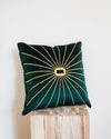 Ivy Velvet Embroidered Pillow Cover