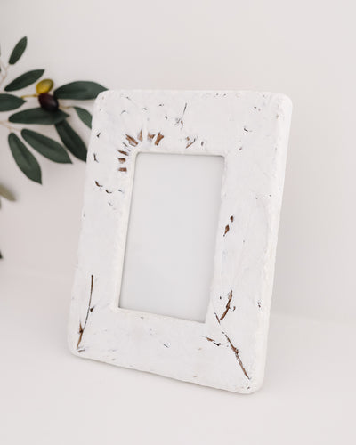 Embossed Wildflower Frame
