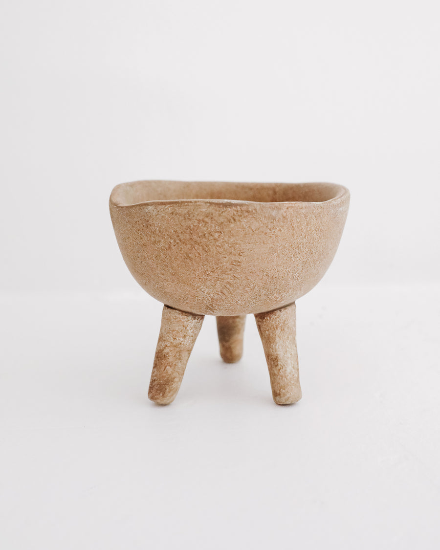 Mini Terracotta Footed Planter