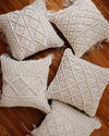 Hand Woven Macrame Pillow Cover