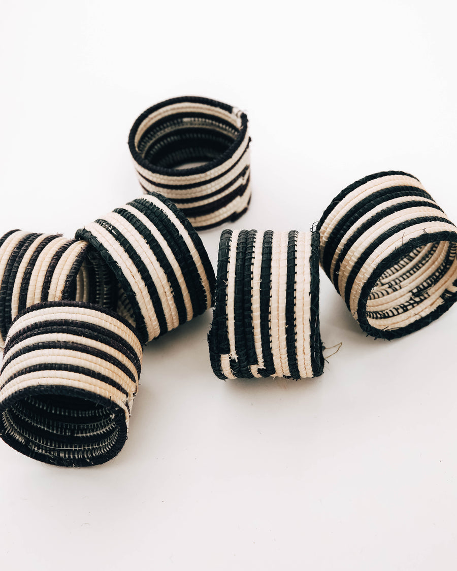 Juliette Napkin Rings, Set of 6