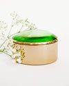 Lily Brass Trinket Box