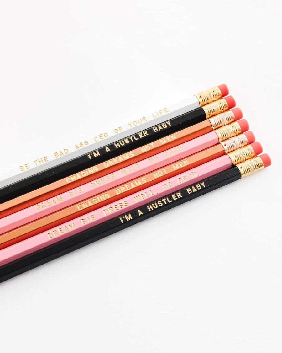 Bad Ass Boss Lady Pencil Pack