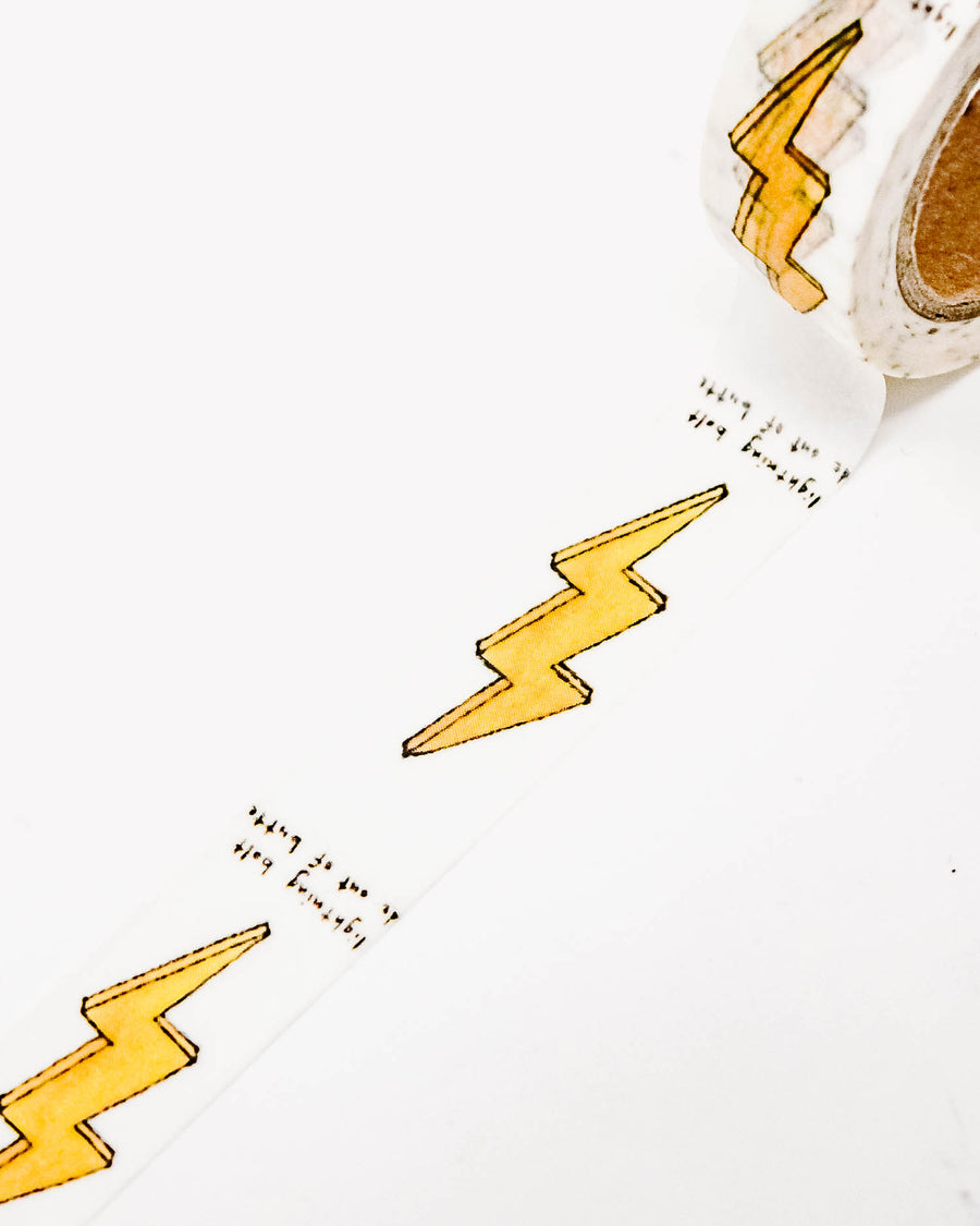 Lightning Bolt Washi Tape