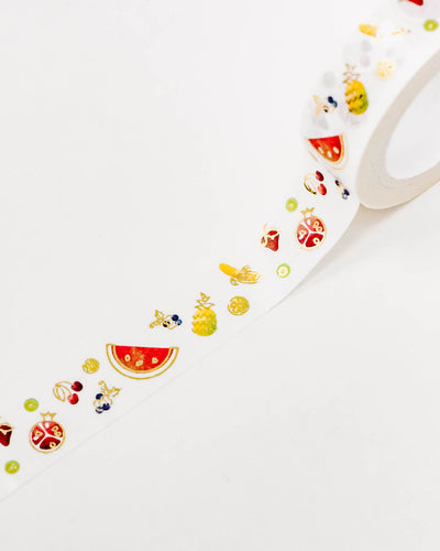 Summer Fruits Washi Tape