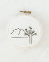 """Joshua Tree"" Embroidery Kit"