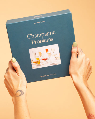 Champagne Problems Puzzle