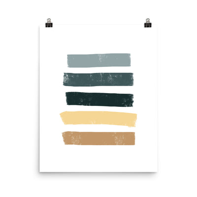 Sand to Sea Art Print