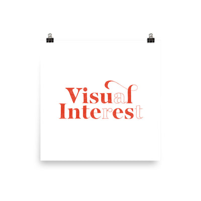 Visual Interest Art Print