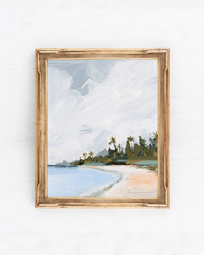 """Palm Island"" Canvas Print"