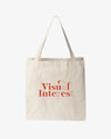"""Visual Interest"" Canvas Tote"