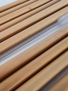 Organic Bamboo Drinking Straws Set of 10