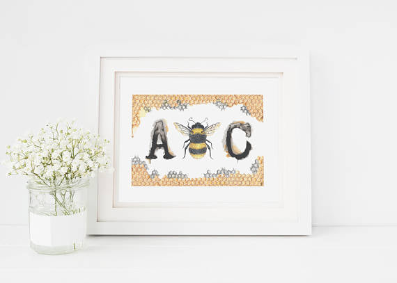 205 ($18) Bees - A Bee C - Unmatted