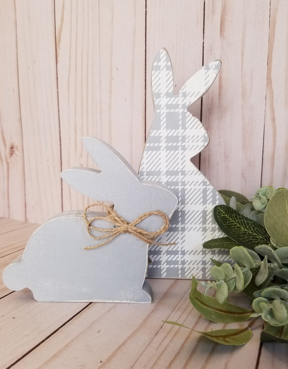 245 ($26) Bunnies - Wood Set