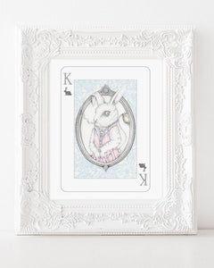 205 ($18) Alice in Wonderland - King of Rabbits