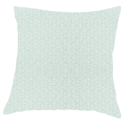 076 ($80) Pillow Cover Santarem - Aqua
