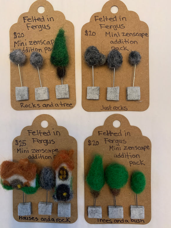 239 ($20-$25) Felted Zenscapes - Addition Packs
