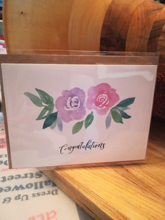 134 ($6) Congratulations - Card